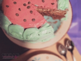 Easy Watermelon cake recipes
