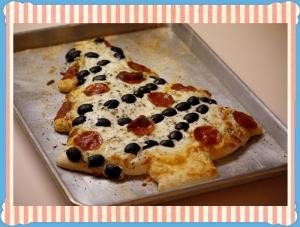 Christmas Pizza για όλη την οικογένεια!!